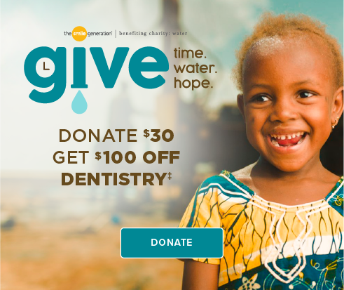 Donate $30, Get $100 Off Dentistry - Acworth Smiles Dentistry